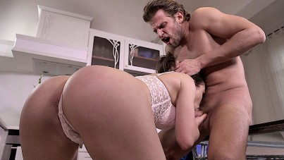She's Doing Her Best To Make Him Cum