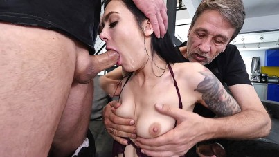 Double Boost For Her Moaning Orgasms