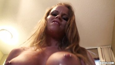 Mofos - Blonde Sucking Very Big Cock And Getting Fucked Hard.
