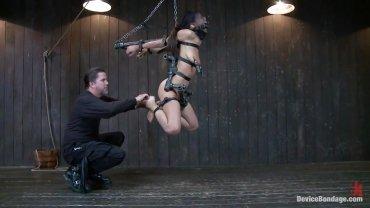 Device Bondage - Hispanic Slut Hanged And Tortured