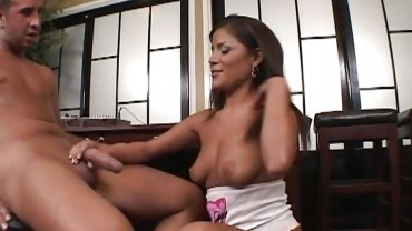 Mofos - Hot Brunette Bombshell Plays With Big Cock